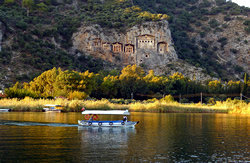 A view from Dalyan & Turtle Beach