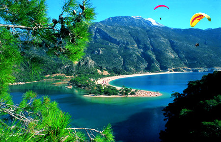 A view from Paragliding in Marmaris