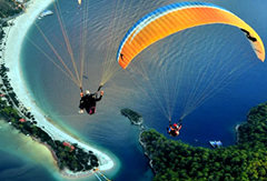 A view from Paragliding