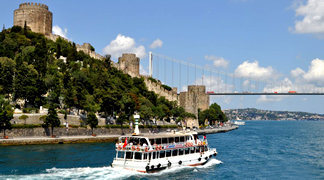 A view from Bosphorus Cruise & Asia