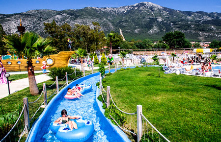 A view from Oludeniz Water World