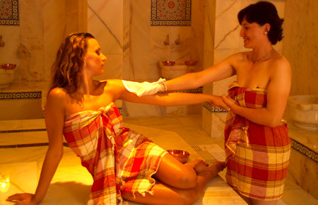 A view from Kusadasi Turkish Bath
