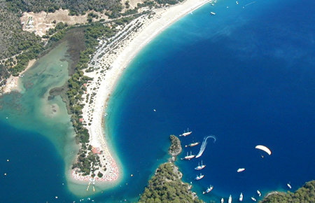 A view from Fethiye & Oludeniz