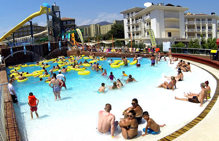 A view from Marmaris Atlantis Water Park