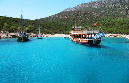 A view from Морская прогулка для ленивых in Bodrum