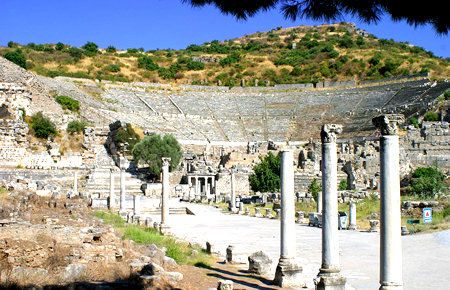 A view from Ephesus
