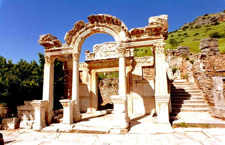 A view from Ephesus in Marmaris