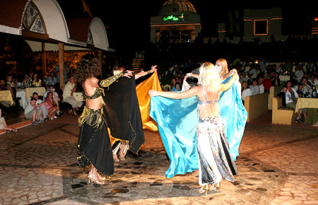 A view from Turkish Night in Marmaris