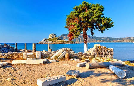 A view from Кос in Bodrum