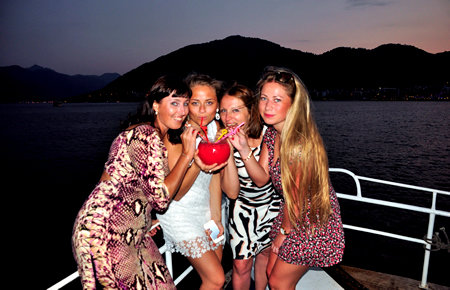 A view from Dinner Cruise in Marmaris