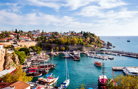 A view from Antalya City Tour in Antalya