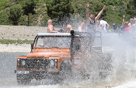 A view from Antalya Jeep Safari and Off-road adventures