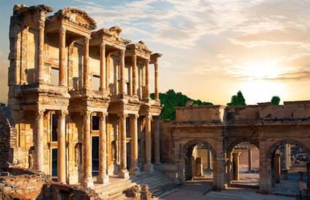 A view from Ephesus & Pamukkale (2-Days) in Antalya