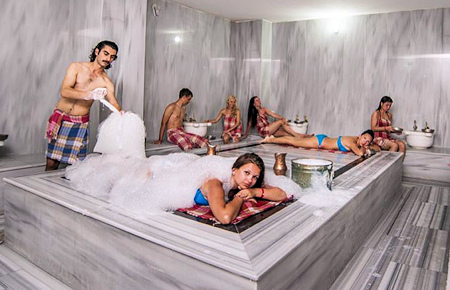 A view from Antalya Traditional Turkish Bath with Massage