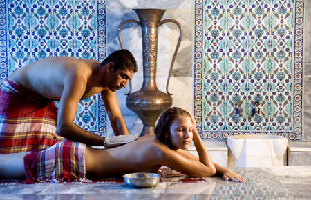 A view from Traditional Turkish Bath with Massage in Antalya