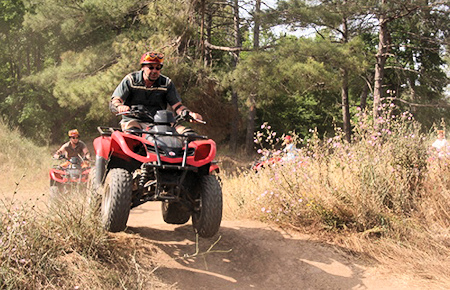 A view from Antalya Quad Safari