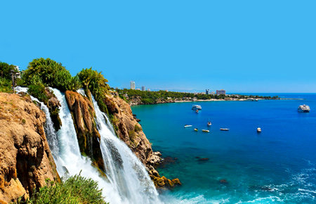 A view from Antalya City Tour and Duden Waterfalls in Antalya