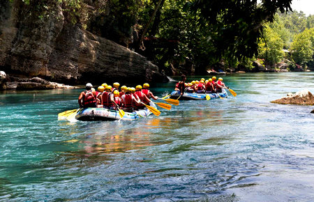 A view from Koprulu Canyon Rafting and Canyoning in Antalya