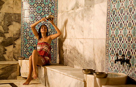 A view from Antalya Deluxe Package Turkish Bath in Antalya