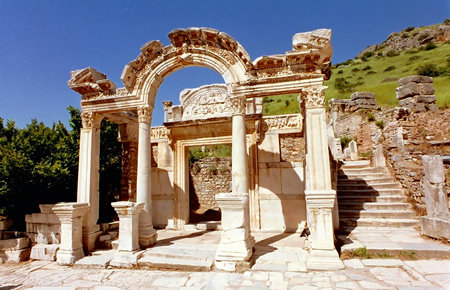 A view from Ephesus in Bodrum