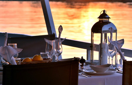 A view from Вечерний Круиз с ужином на борту in Antalya