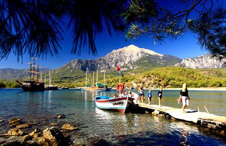 A view from Яхт-тур на пиратском корабле in Antalya
