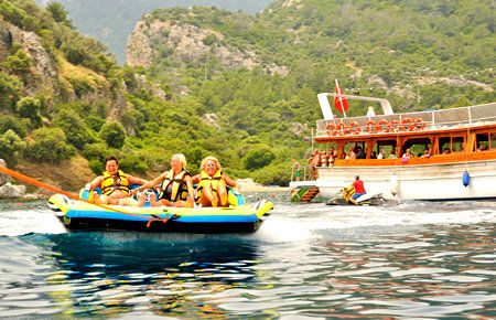 A view from Marmaris Lazy-Day Boat Trip