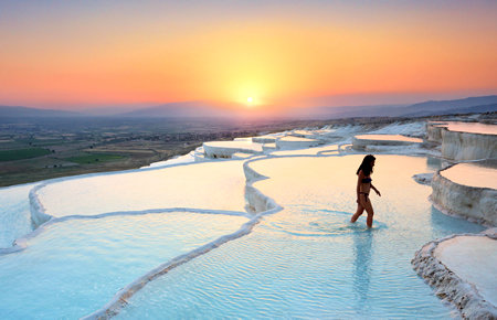 A view from Ephesus & Pamukkale (2-Days) in Bodrum