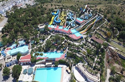 A view from Bodrum Waterpark