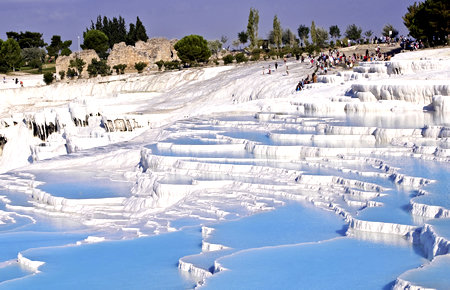 A view from Pamukkale in Marmaris