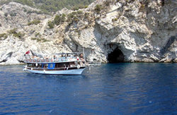A view from Aegean Islands All Inc. Boat Trip