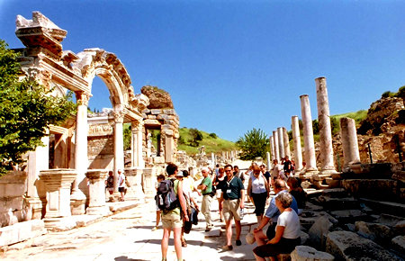 A view from Ephesus full-day in Kusadasi