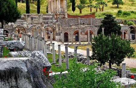 A view from Ephesus full-day in Kusadasi