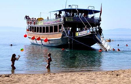 A view from Kusadasi Boat Trip in Marmaris