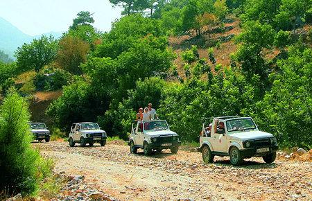 A view from Kusadasi Jeep Safari in Marmaris