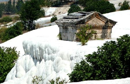 A view from Pamukkale from Kusadasi