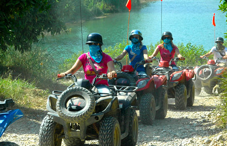 A view from Kusadasi Quad Safari