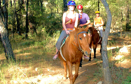 A view from Horse Safari in Fethiye