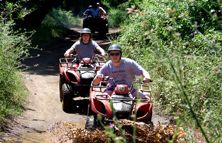 A view from Quad & Buggy Safari in Fethiye