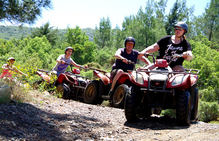 A view from Fethiye Quad Safari