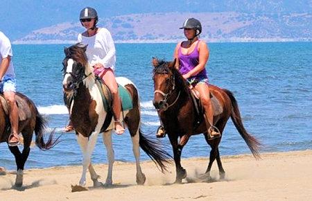A view from Kusadasi Horse Safari in Marmaris