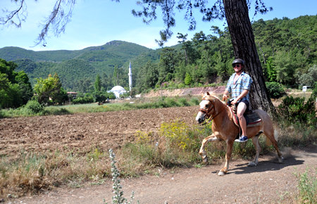 A view from Marmaris Horse Safari in Marmaris