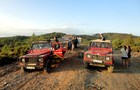 A view from Sunset Jeep Safari