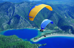 A view from Paragliding Oludeniz